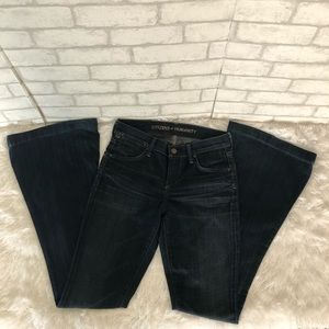 Citizens of humanity Flared Leg Jeans Sz 26